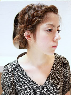 編みこみスタイル